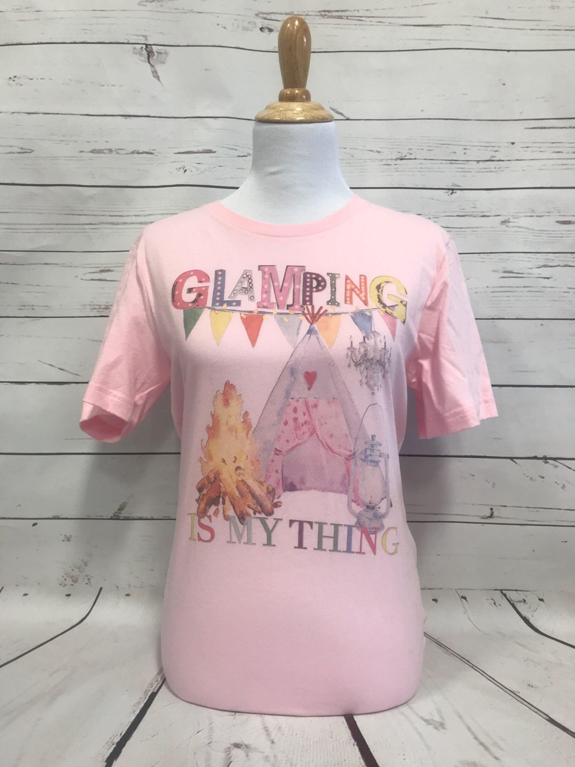 Glamping Pink Bella Tee