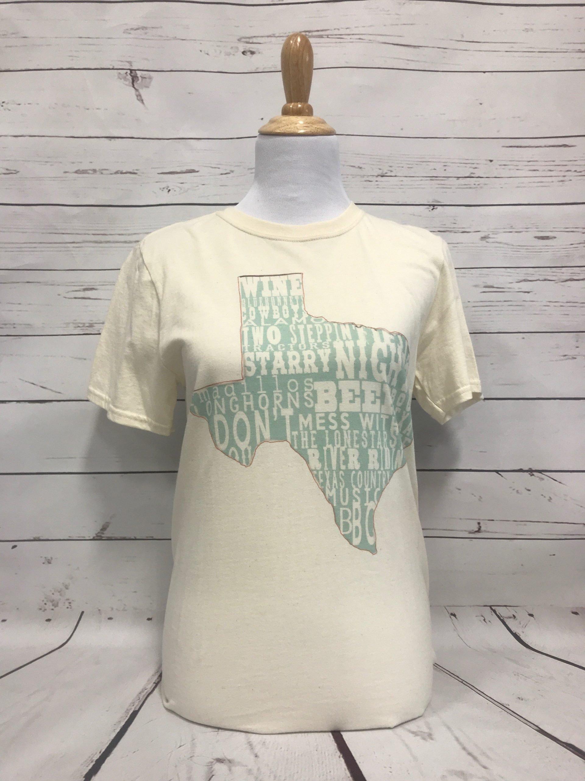Turquoise Texas Cream Unisex