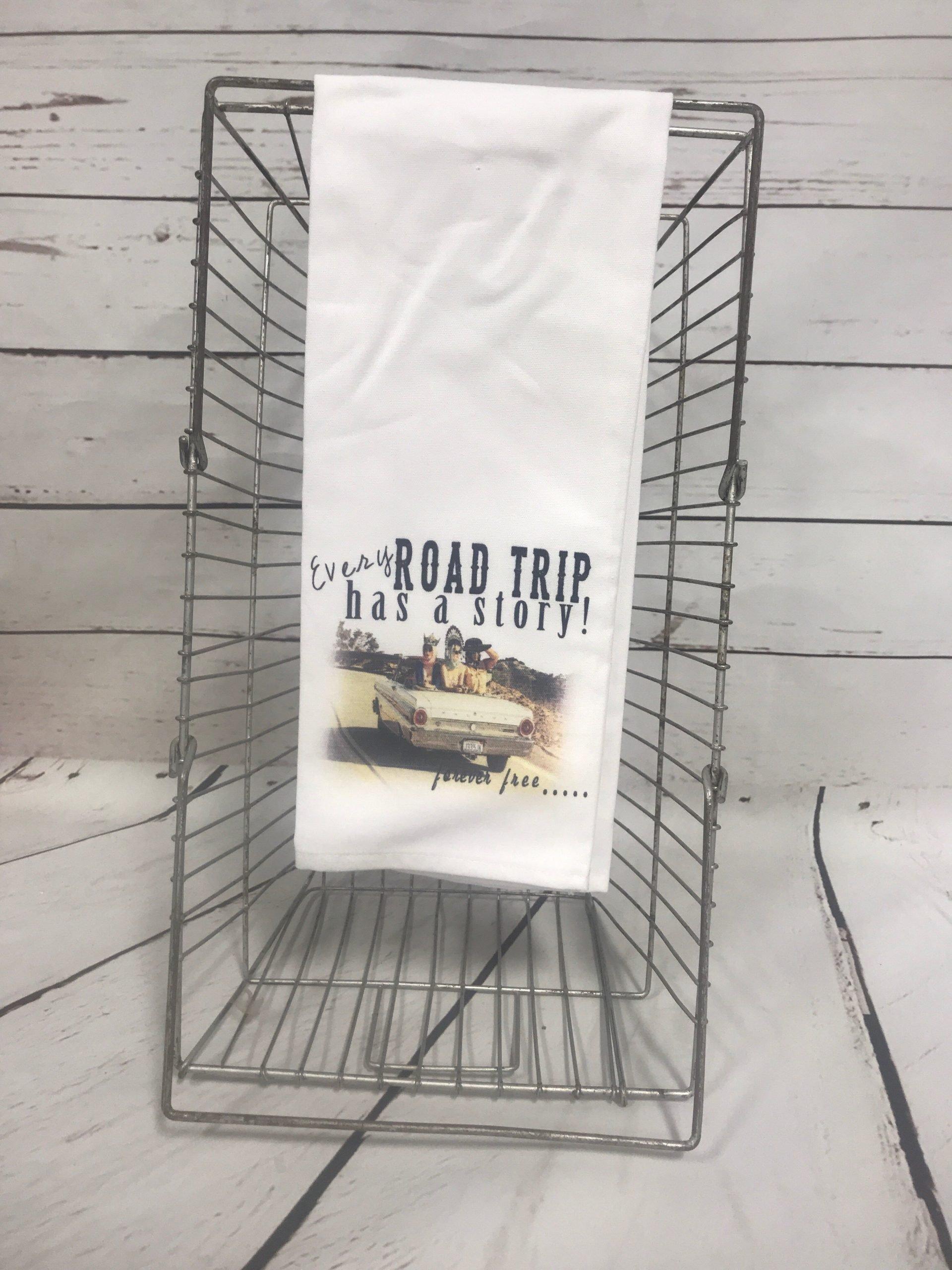 Road Trip Tea Towel