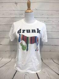 Drunk Ass White Softstyle Tee