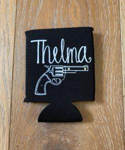 Thelma on Black Koozie
