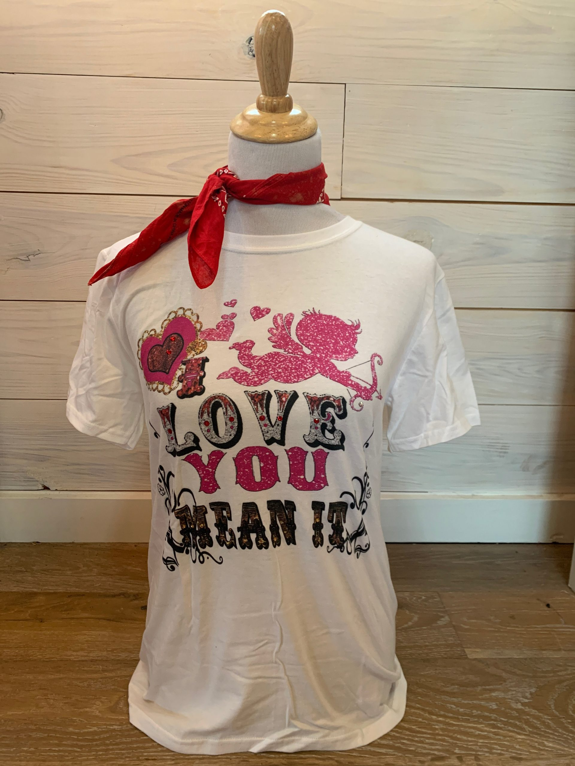 Love You Mean It White Tultex