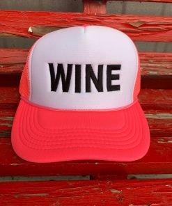 Pink Wine Hat