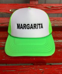 Lime Green Margarita Hat