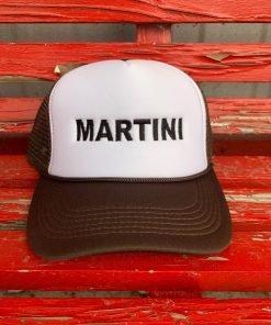 Brown Martini Hat