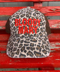 Leopard Bloody Mary Hat